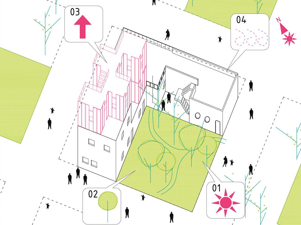 Project entry 2014 Europe – The Commons: Participatory urban neighborhood, Vienna, Austria