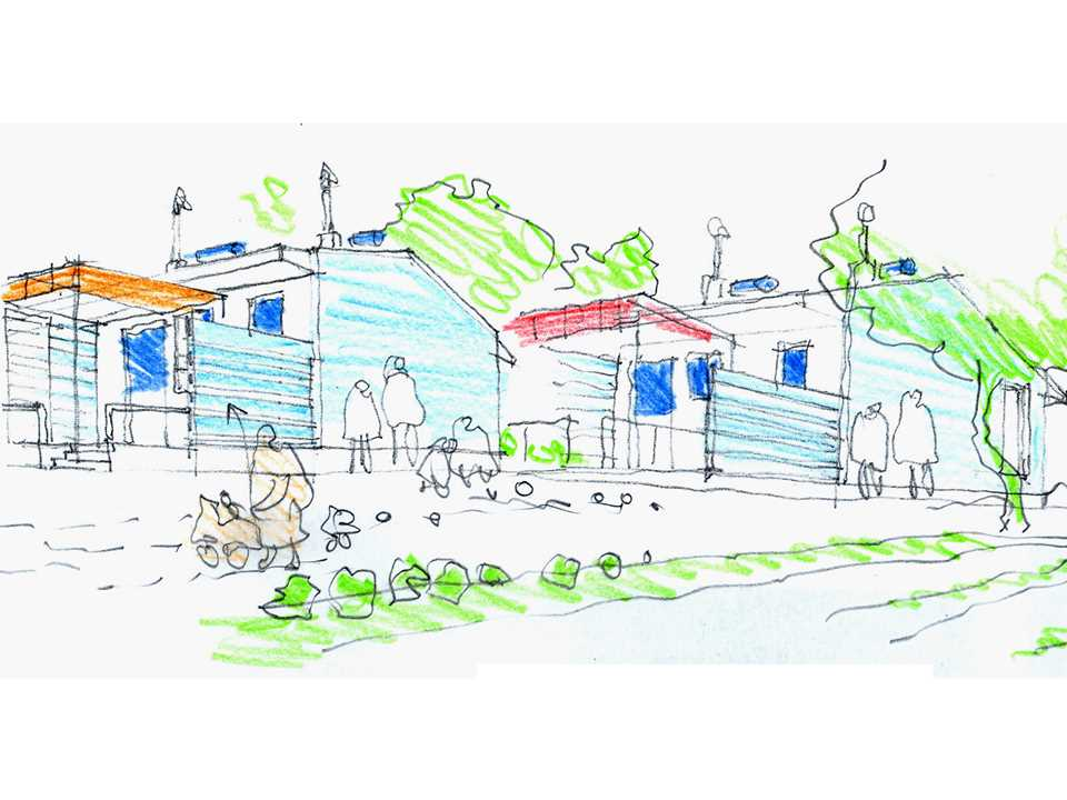 Holcim Awards Acknowledgement prize 2008 Europe: Culturally-responsive urban village, …