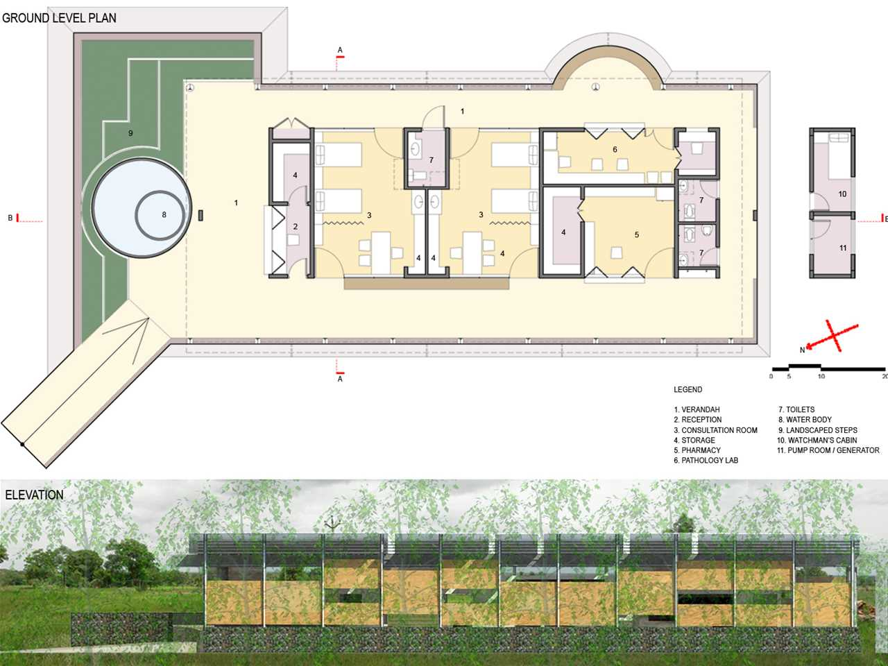 Project entry 2011 Asia Pacific – Primary healthcare center, Dharmapuri, India