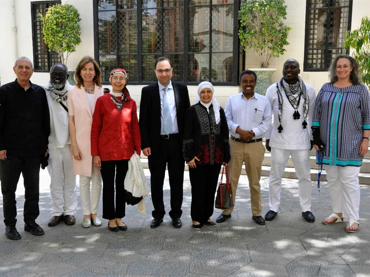LafargeHolcim Awards jury meeting for Middle East Africa in Cairo, May 2017