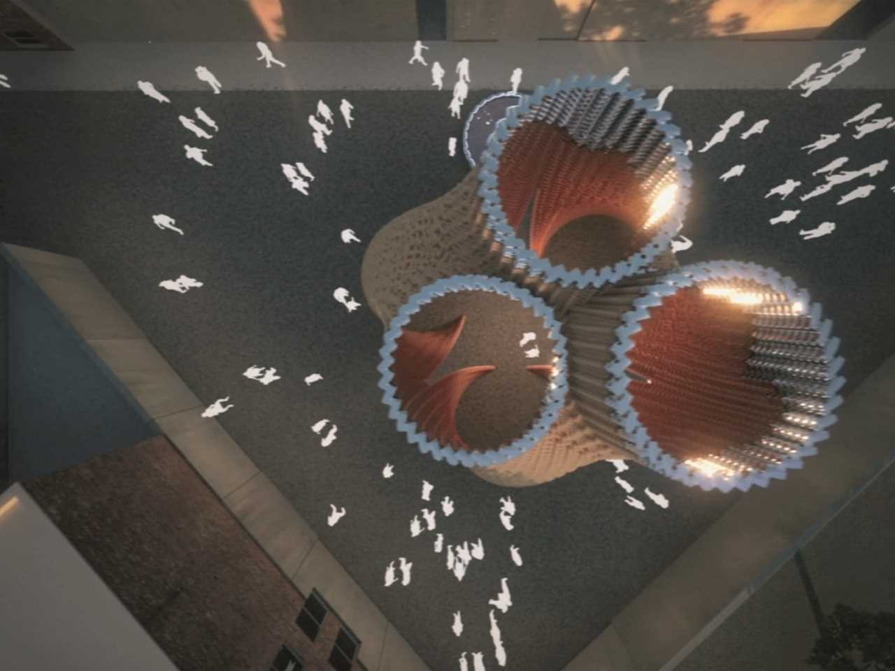 Project entry 2014 North America – Hy-Fi: Zero carbon emissions compostable structure, New York, NY