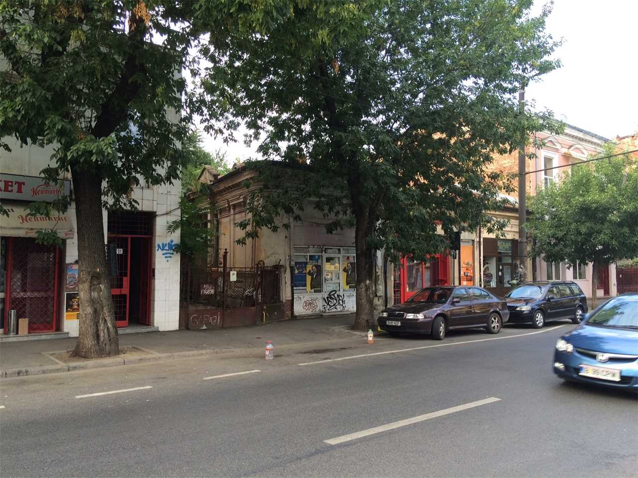 First independent theater, Bucharest, Romania