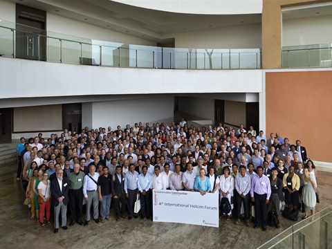 400 professionals from around the world attended the 4th Holcim Forum in Mumbai