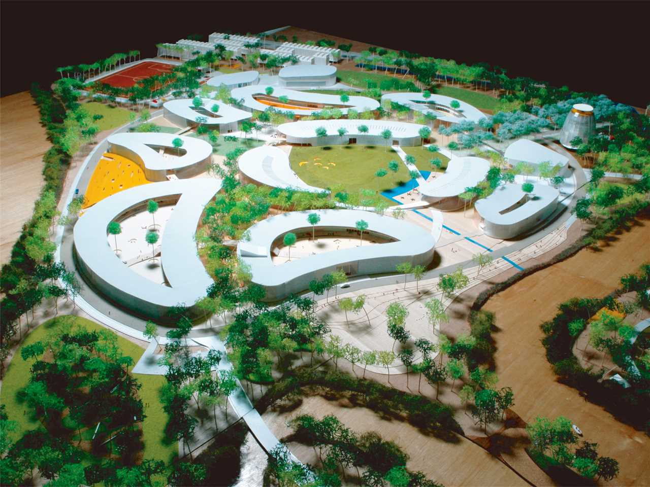 Holcim Awards Silver 2008 Asia Pacific: Low-impact greenfield university campus, Ho Chi …