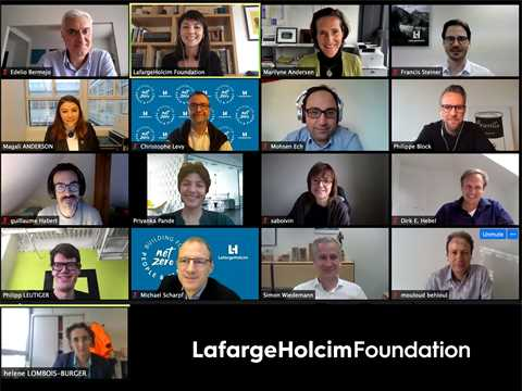 Experts from academia and LafargeHolcim shape the next Forum of the LafargeHolcim Foundation