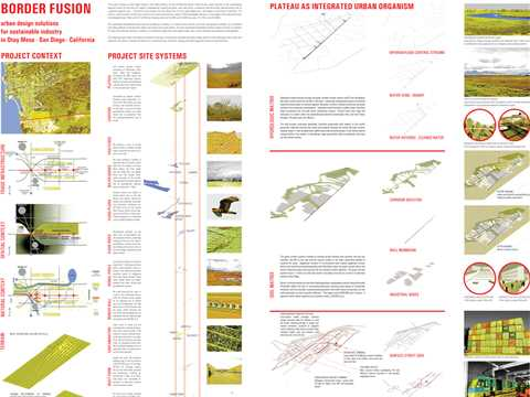 Border Fusion - urban design solutions for sustainable industry in Otay Mesa, San Diego, California