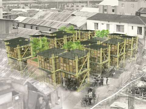 Social sustainability was one of the prime concerns of the design process.