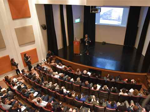 Students and young professionals debate future of sustainable construction
