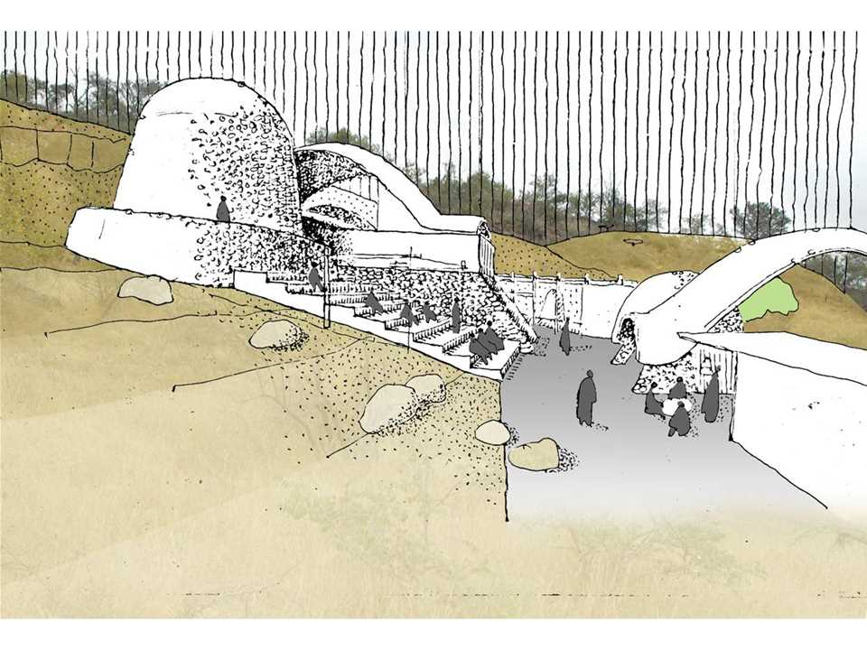 Holcim Awards Acknowledgement prize 2008 Africa Middle East: Stabilized earth visitors' …