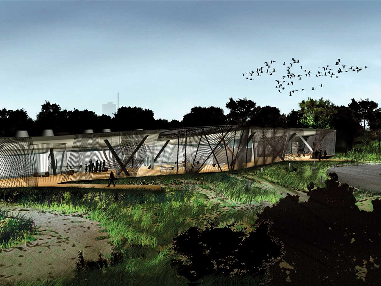 Holcim Awards Acknowledgement prize 2011 North America: Environmental center and …