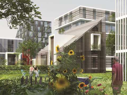 Global finalist entry 2015 - The Commons: Participatory urban neighborhood