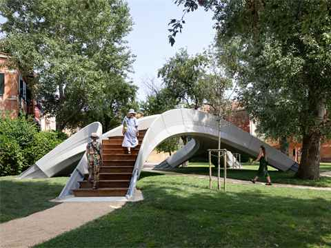 Striatus: The first-of-its-kind 3D concrete printed bridge
