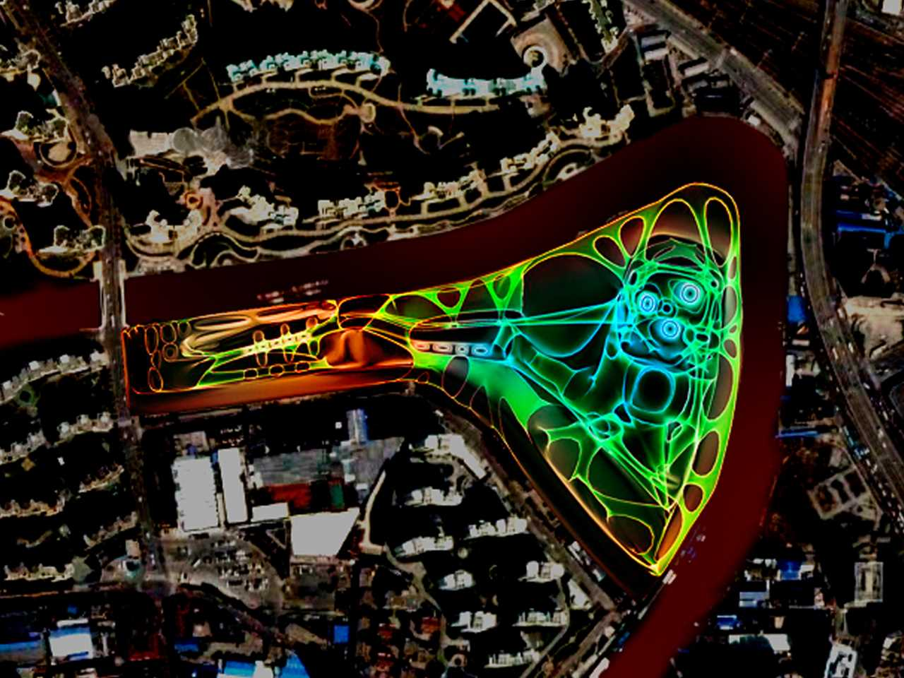 """Holcim Awards """"Next Generation"""" 1st prize 2008 Asia Pacific: Heart of Suzhou Creek …"""