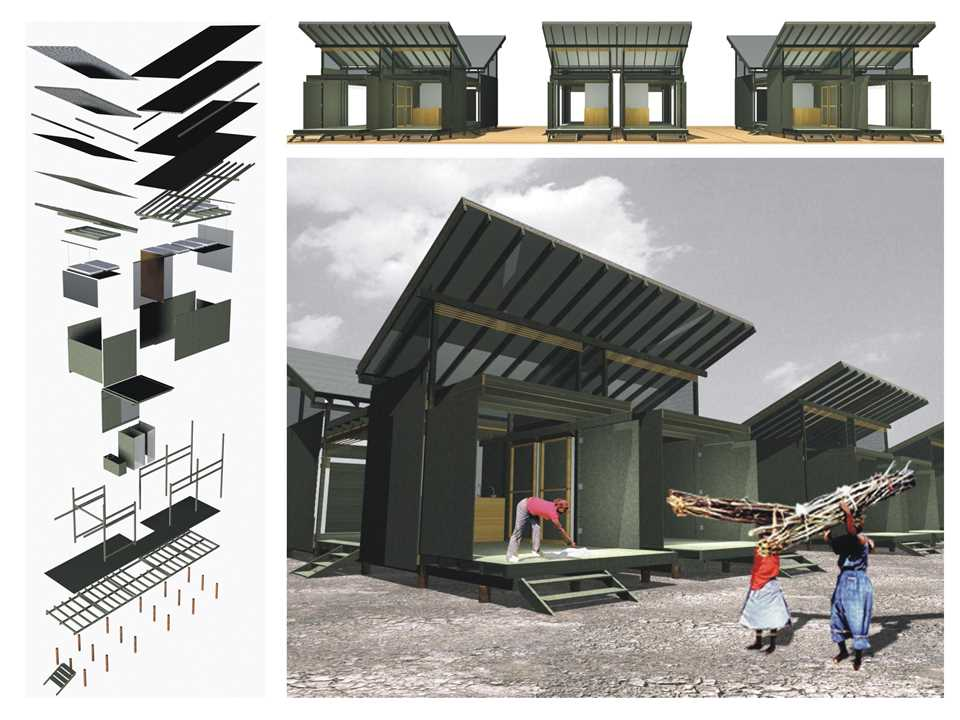 Holcim Awards Encouragement prize 2005 Latin America: From temporary shelters to permanent …