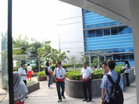 Holcim Awards 2014 Asia Pacific ceremony, Jakarta, Indonesia – Site tour: Certified Green Buildings