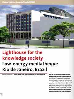 """""""Lighthouse for the knowledge society"""" in Second Holcim Awards for Sustainable …"""
