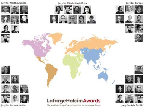 Formal check of entries starts for 6th International LafargeHolcim Awards competition