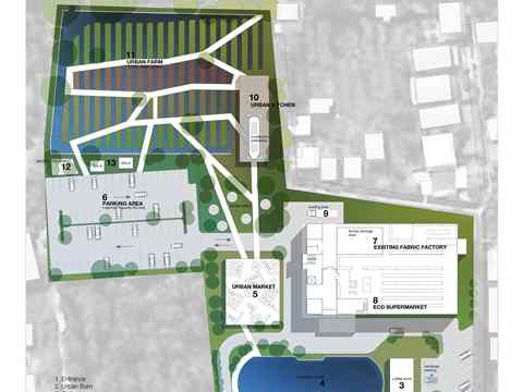Project entry 2011 – Urban agriculture and factory conversion, Bangkok, Thailand