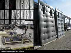 Material Reduction: Efficient Fabric-Formed Concrete, Canada