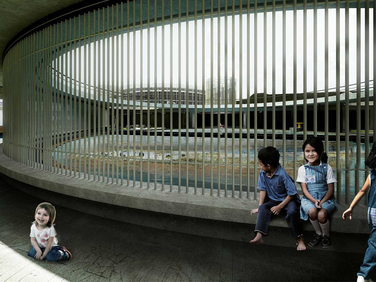 Global Holcim Awards Gold 2015 – Articulated Site: Water reservoirs as public park, …