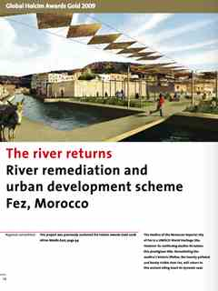 """""""The river returns"""" in Second Holcim Awards for Sustainable Construction 2008/2009"""