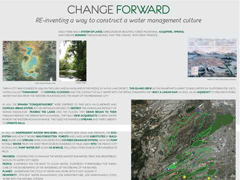 Change forward: re-inventing a way to construct a water management culture