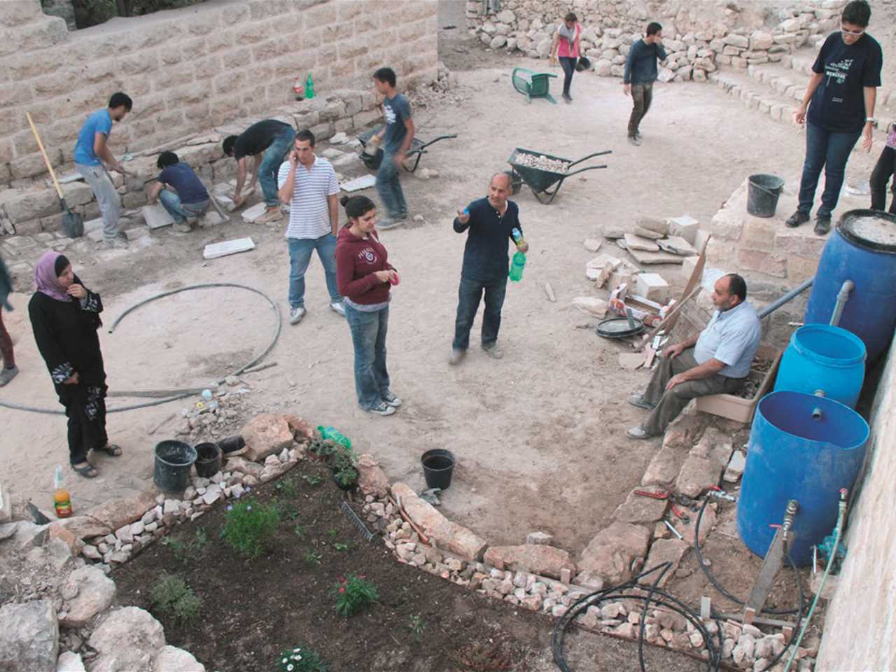 Project entry 2014 Africa Middle East - Adaptive Re-Use: Women's center and playground, …