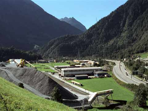 Post event tour (day 1): Visit construction site of new Gotthard railway tunnel (NEAT) and …