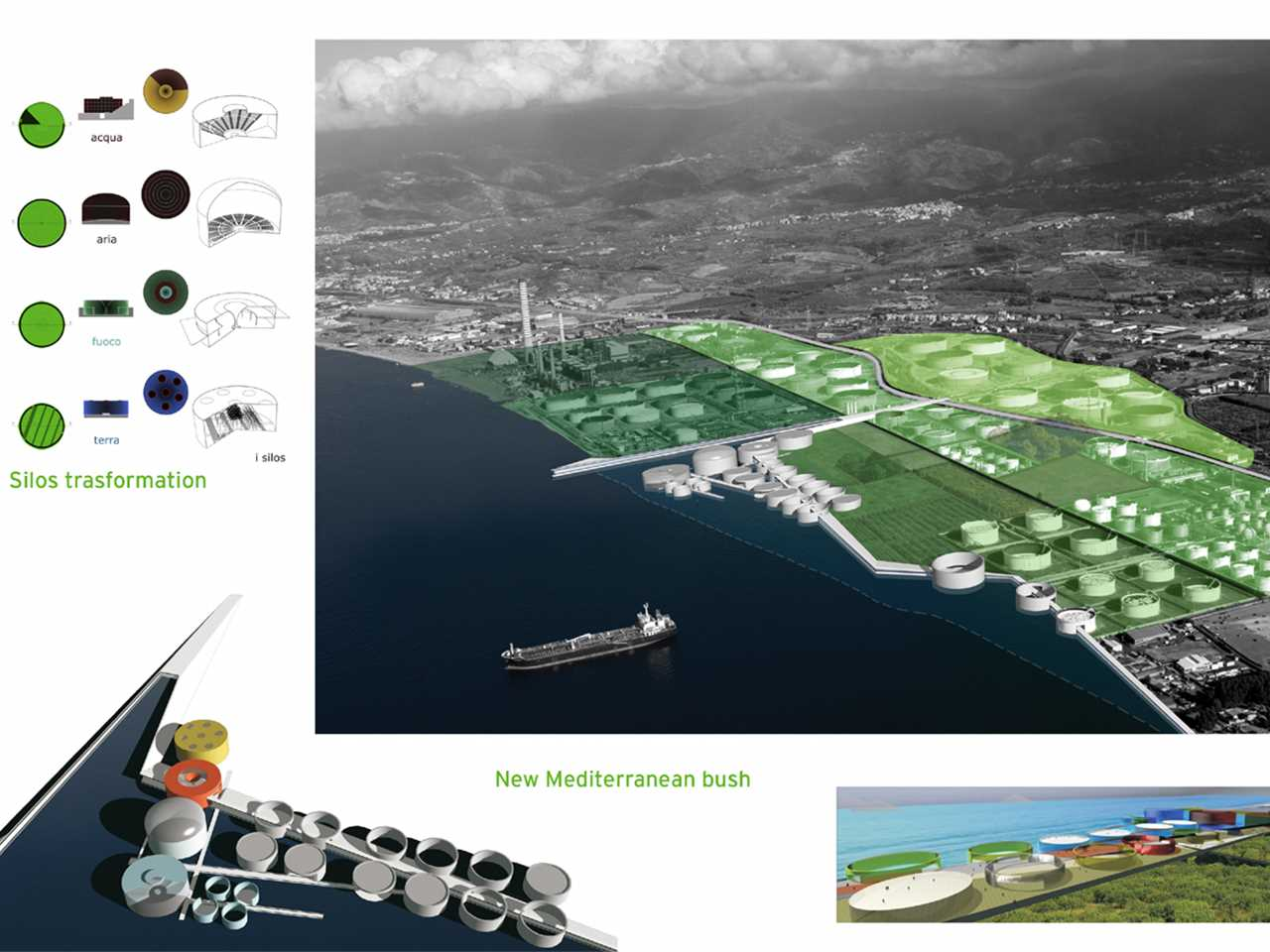Holcim Awards Acknowledgement prize 2008 Europe: Waterfront reclamation and remediation, …