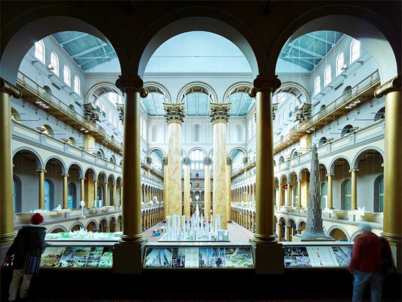 """""""Hot to Cold"""" exhibits the work of Bjarke Ingels Group (BIG), National Building Museum, …"""