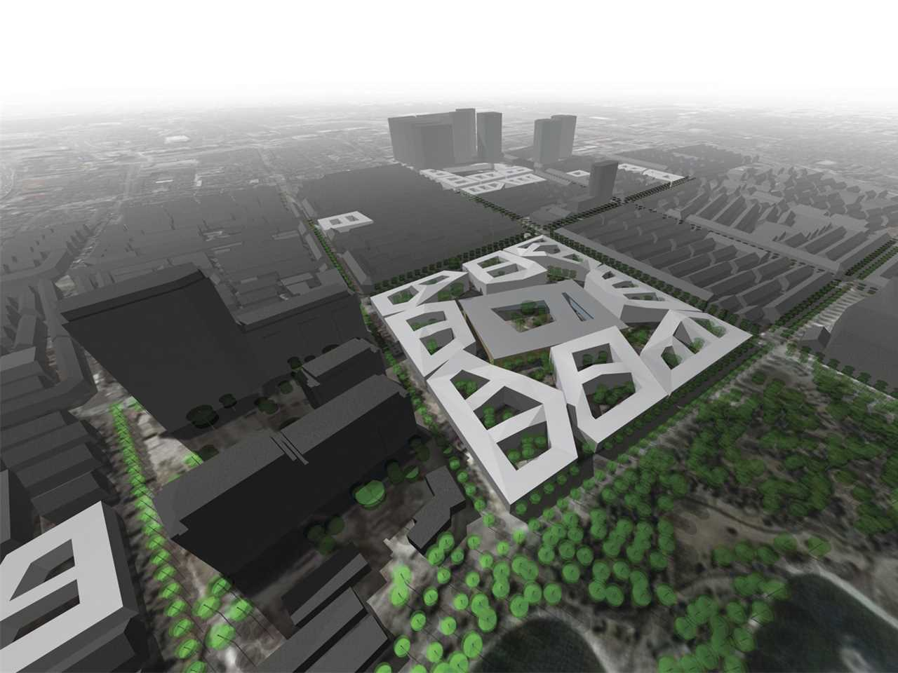 """Holcim Awards """"Next Generation"""" 3rd prize 2008 Asia Pacific: Low and dense urban elements, …"""