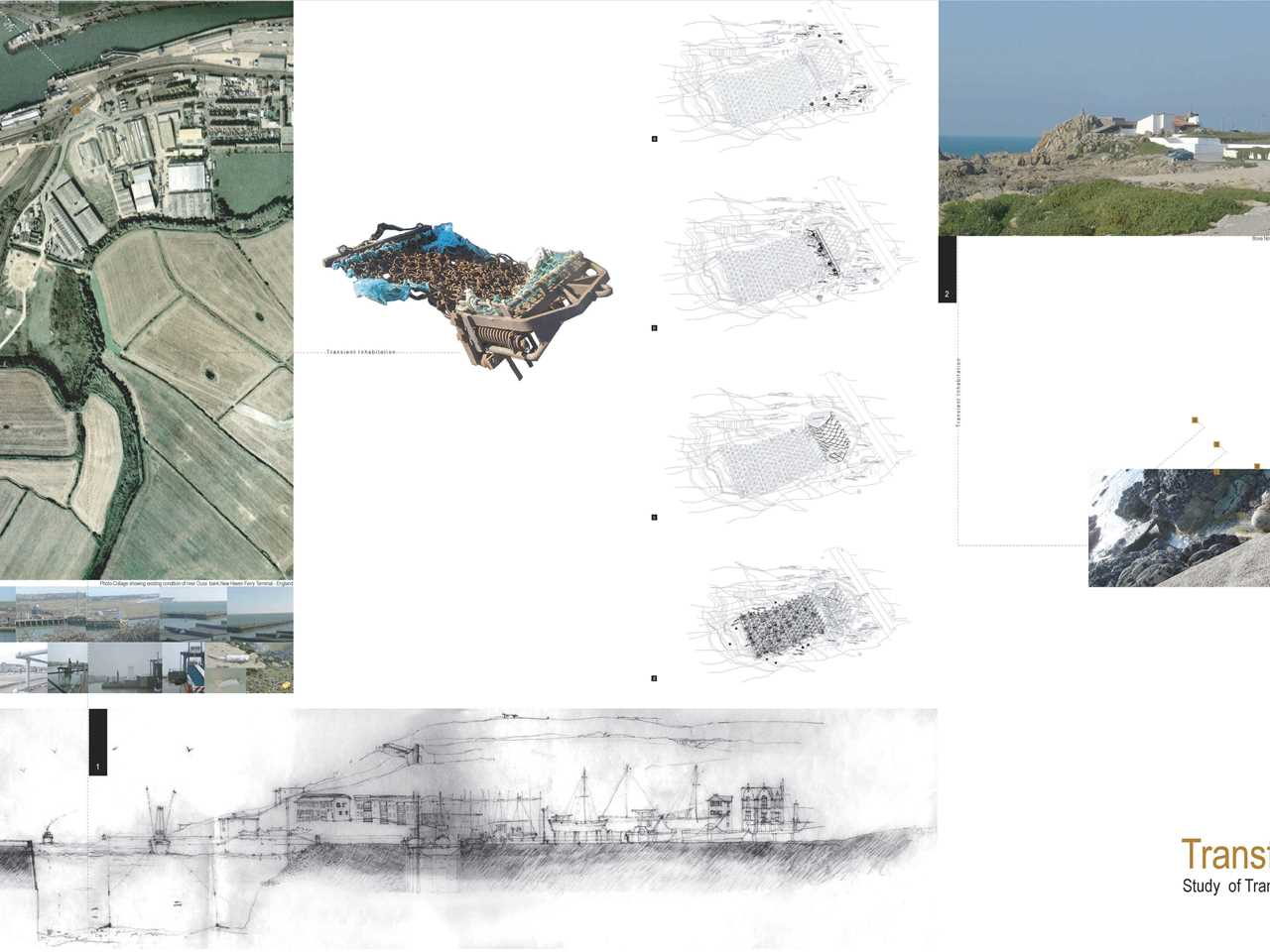 """Holcim Awards """"Next Generation"""" 1st prize 2008 Europe: Production and ecological cluster, …"""