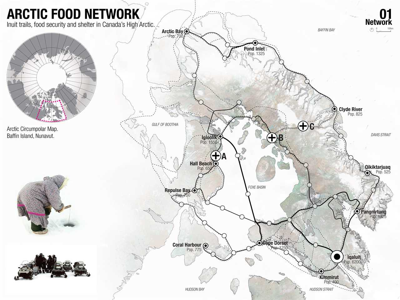 Project entry 2011 North America – Regional food-gathering nodes and logistics network, …