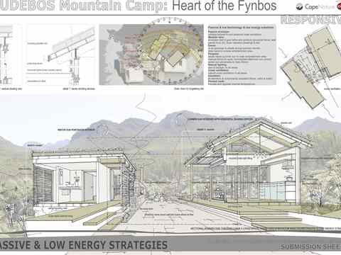 Project entry 2011 Africa Middle East – Sustainable public eco-tourism facility, Cape …