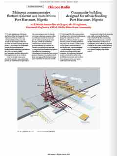 """""""Chicoco Radio"""" in 'A'A' presents Selected Projects / Morceaux Choisis – Holcim Awards 2014"""