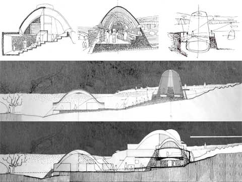 """Project entry 2008 Africa Middle East - """" Stabilized earth visitors' center, Mapungubwe …"""