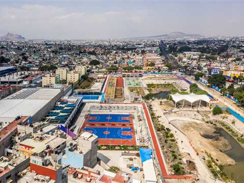Global LafargeHolcim Awards Gold winning project in Mexico City completed