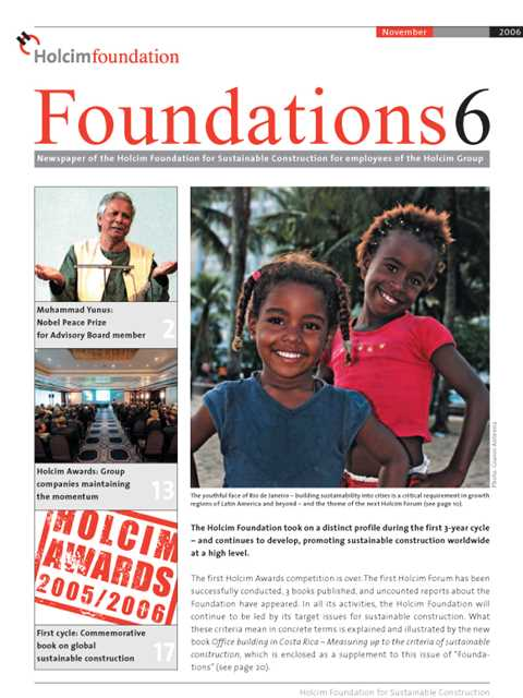 Cover of Foundations 6 Magazine
