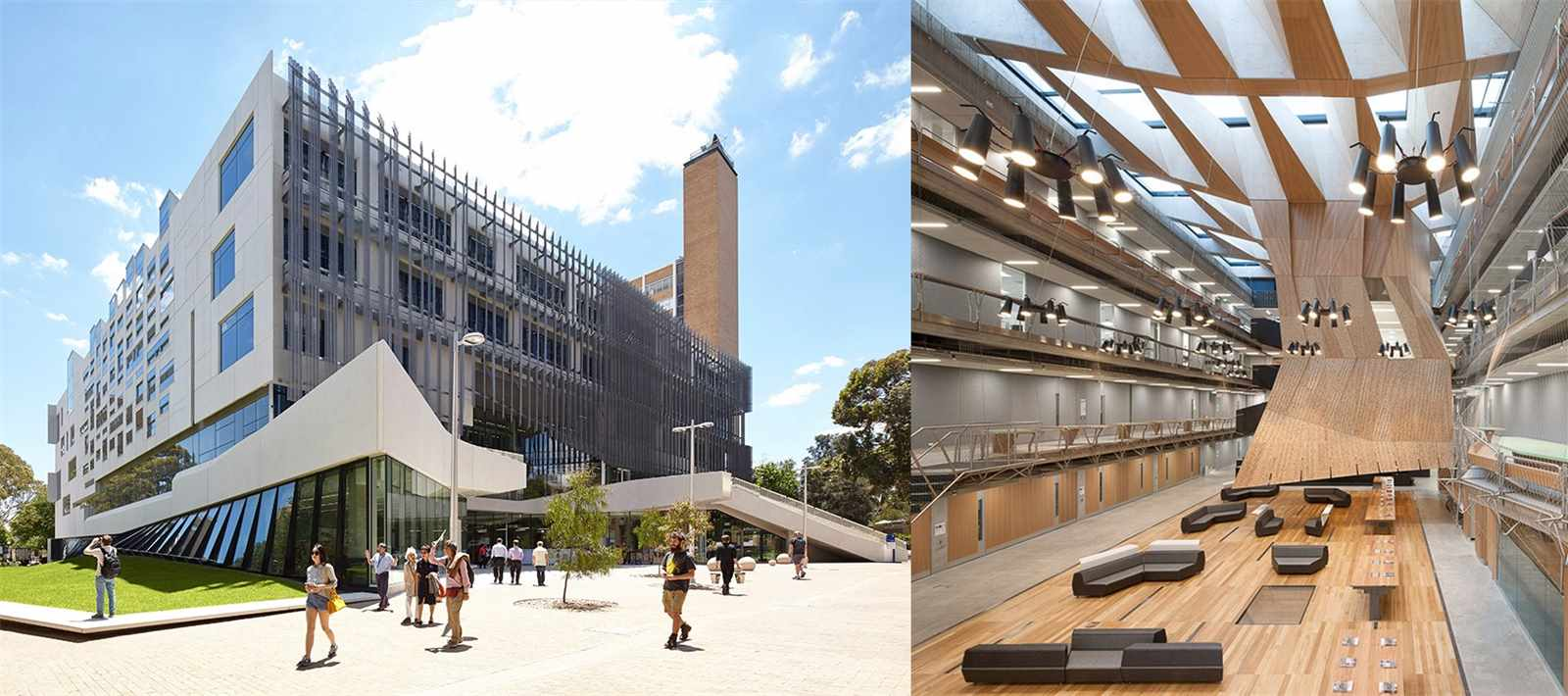The University of Melbourne's new academic building, the Melbourne School of Design (MSD), …