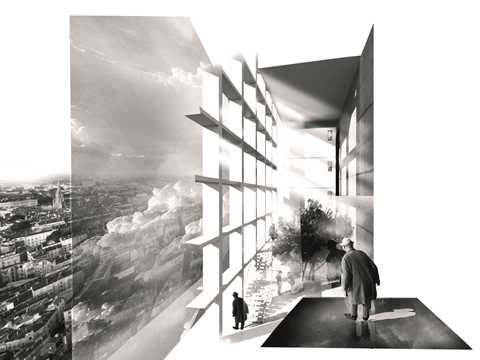 The project speaks about a new relationship between the city and the inside of the tower. …