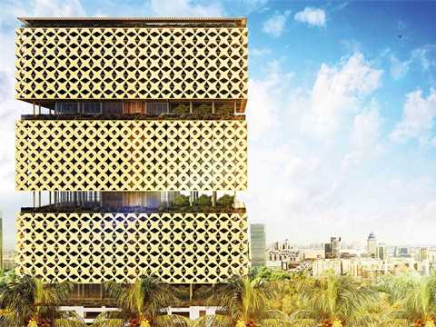 Lagos's Wooden Tower: Build a City Above an Existing Fabric