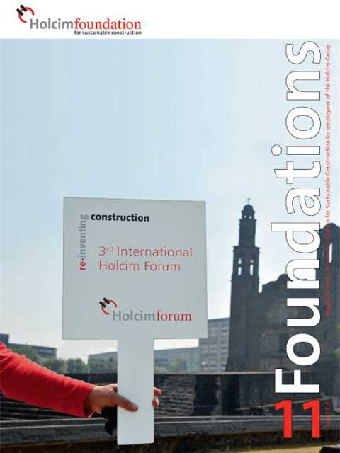 Cover of Foundations 11 Magazine