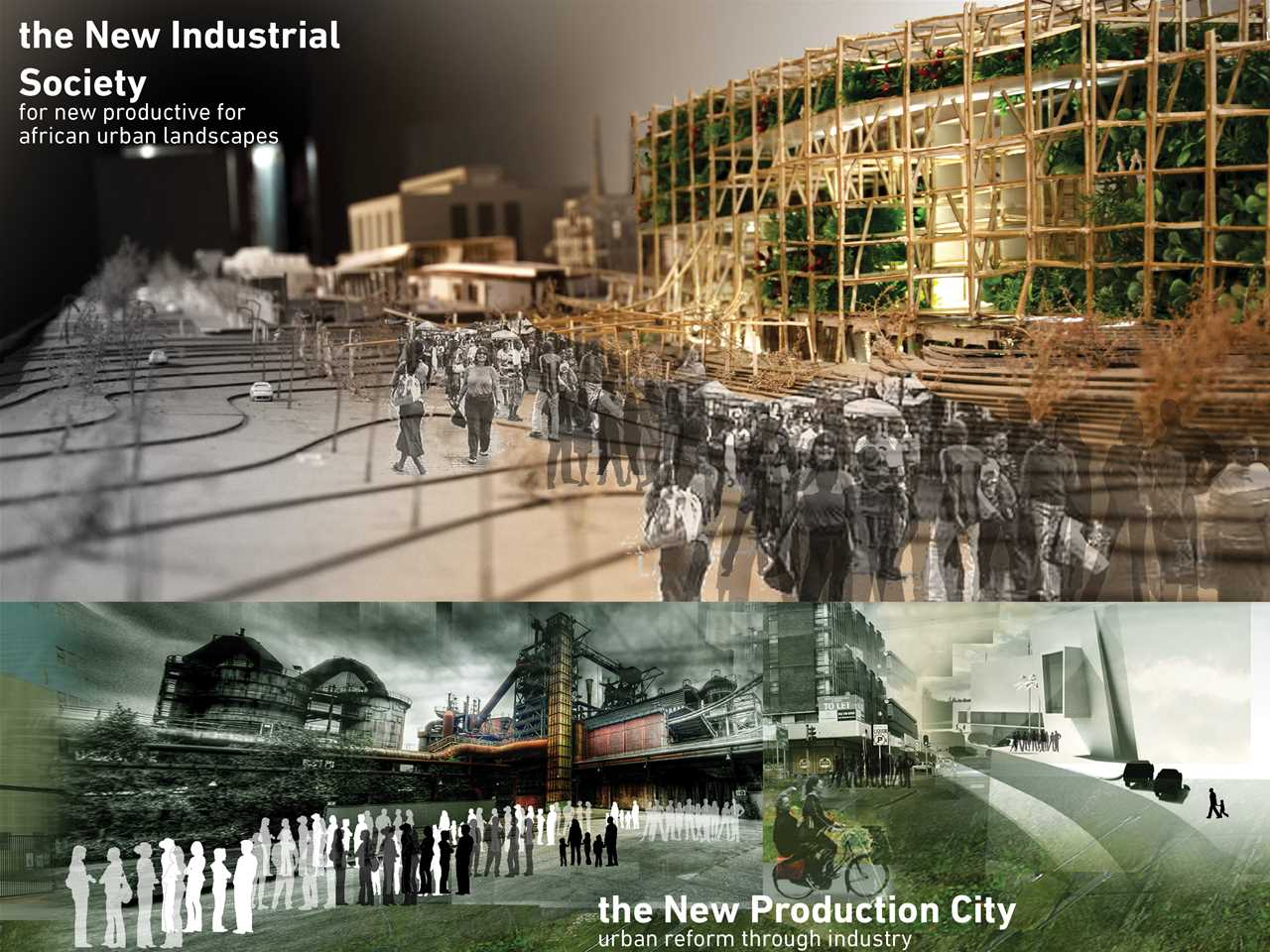 """Holcim Awards """"Next Generation"""" 1st prize 2011 Africa Middle East: Adaptive re-use of …"""