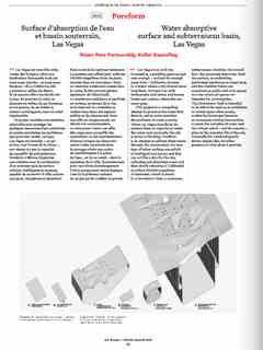 """""""Poreform"""" in 'A'A' presents Selected Projects / Morceaux Choisis – Holcim Awards 2014"""