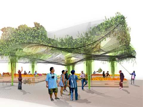 Urban agriculture and factory conversion