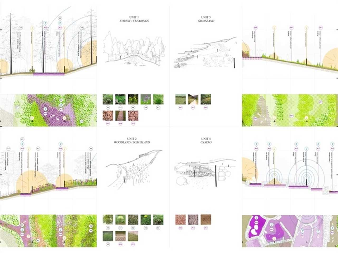 An ecological approach to archaeological sites, Pontevedra, Spain