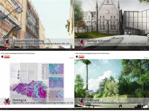 Holcim Awards Acknowledgement prizes 2014 for North America